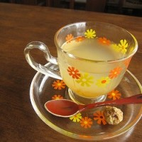 石垣島のカフェ&カレー「トラベラーズカフェ朔」の柚子茶