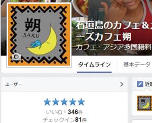 石垣島のカフェ&カレー「トラベラーズカフェ朔」のいいね346